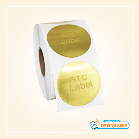 DECAL LABEL - DECAL CUỘN